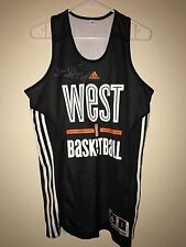 Tina Thompson GAME USED AUTOGRAPH All-Star JERSEY Basketball Seattle Storm WNBA