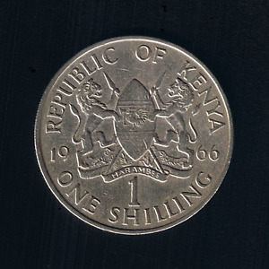 Kenya - 1 Shilling - 1966 - KM# 5