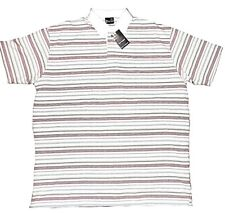 6XL Bigger Sizes Large Mens Guvnor striped polo top   2 xl 3xl 4xl 5xl 6xl
