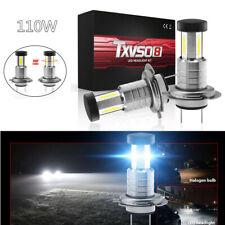 110W Car H7 LED Headlight Lamp 360 Degree Angle Bulbs 6000K White Fog Light&DRL
