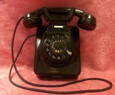 W49 Wand-TischTelefon  Bakelit POST TI-WA Fernsprecher Telephone  TOP!