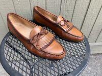 Allen Edmonds Woodstock Shoes 13 D Men's Kiltie Loafers Dress Shoes Loafers