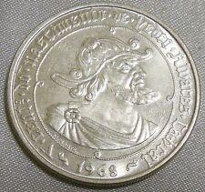 Portugal 1968 50 Escudos Silver Coin - 500th Anniversary Pedro Alvares Cabral