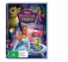 THE PRINCESS AND THE FROG - DISNEY COLLECTION- BRAND NEW & SEALED R4 DVD