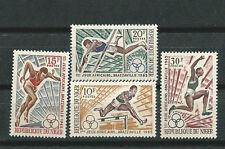NIGER Scott # 159/162 ** MNH Juegos Africanos Brazzaville 1965