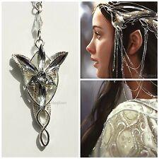 Il Signore degli Anelli Arwen Evenstar collana ciondolo LOTR Hobbit UK Venditore