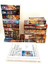 WHEEL OF TIME Robert Jordan Complete Series Set #0-14: 16-Book Lot 11 PB/ 5 HC