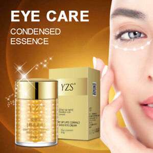 24K Gold Eye Essence Cream Anti Wrinkle Aging Firming Remove Dark Circles Serum