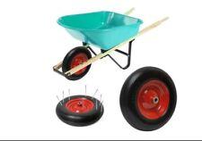 Roue Chariot roues pneus pneumatique trolley wheel barrow brouette 4.80/4.00-8