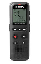 Philips DVT1150 Digital Voice Recorder 4gb PC Connected Black