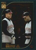 2001 Topps Baseball Card #389 Ken Griffey Jr.