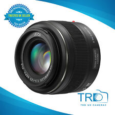 Panasonic Leica DG 25mm f/1.4 Summilux ASPH Lens (Black, NEW)