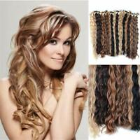 "16""-30"" Loose Wave 100% Russian Remy Human Hair Extensions Tape In Skin Weft 50g"