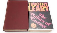 1957 Interpersonal Diagnosis of Personality & Politics of Ecstasy Timothy Leary