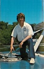 Jim Mossholder Wisconsin Dells River Pilot and Guide Boating Postcard