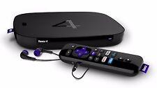 (AU PSU) Roku 4 4400R 4K Ultra HD Internet Streaming Player for Netflix PLEX