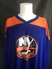 New York Islanders Alexei Yashin Blue CCM Air Knit NHL Hockey Jersey Sz XXL