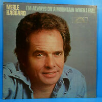 MERLE HAGGARD ALWAYS  ON A MOUNTAIN WHEN I FALL 1978 GREAT CONDITION! VG+/VG+!!