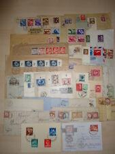 DR 1900-1945 und ALLE WELT TOLLER BRIEFEBESTAND ca 400 BELEGE(V3623d