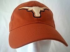 Texas Longhorns Baseball Hat Football Cap Burnt Orange Fitted Adult College