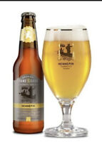 Ommegang Brewery Cooperstown Hennepin Saison Belgian Tulip  Stemmed Beer Glass