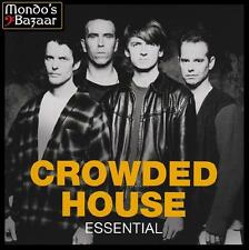 CROWDED HOUSE - ESSENTIAL CD Album ~ 80's / 90's AUSTRALIAN POP NEIL FINN *NEW*