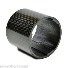 "OMNI Racer WORLDS LIGHTEST Carbon Race Lite Headset Spacer: 1-1/8"" 30mm"