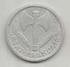 FRANCE 2 FRANCS BAZOR 1944 B  BOX01