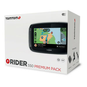 Navigation TomTom Rider World 550 Premium Pack