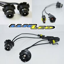 Pair Of D2S D2R To Amp Connector Adapter OEM HID Ballsts To Aftermaret HID Bulbs
