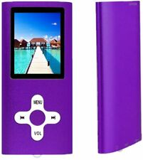 16GB Portable MP3/MP4 Player,1.7 inch LCD Screen, Rechargeable Purple