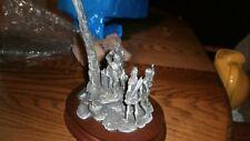 "Chilmark  Pewter Figurine By Polland 1990 ""TECUMSEH'S WAR"" #591 /950 NEW  RARE"