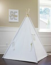 Natural Canvas teepee from Canada,kids teepee tent,play tent,kids room decor