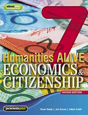 Humanities Alive Economics & Citizenship 7. Book Only.