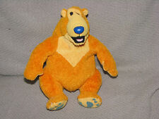 "Bear in the Big Blue House 6"" Plush Mattel Star Bean Stuffed Animal Lovey Toy"