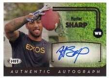 2016 SAGE Hit Football Autograph Black Level AUTO #A87 Hunter Sharp
