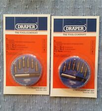2 × Draper Stock No 13539 7 Piece Magnetic Screwdriver Bit Holder Sets
