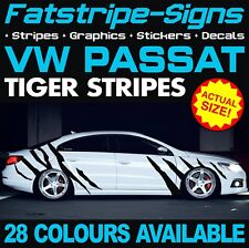 VW PASSAT TIGER STRIPES GRAPHICS STICKERS DECALS VOLKSWAGEN V DUB GTI R36 TDi