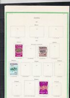 europa 1971/72 stamps page ref 18436