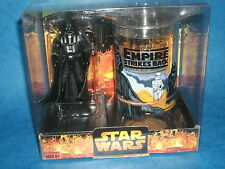 STAR WARS CHARACTER CUP & FIGURE SETS: DARTH VADER w/Empire Strikes Back Tumbler