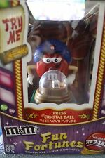 M & M ORIGINAL FUN FORTUNES HARD TO FIND WITH RED, BLUE HAT AND GREEN TABLECLOTH
