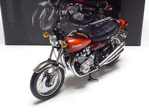 MINICHAMPS 1:12 KAWASAKI Z2 750 RS 1972 Candy Brown/Orange