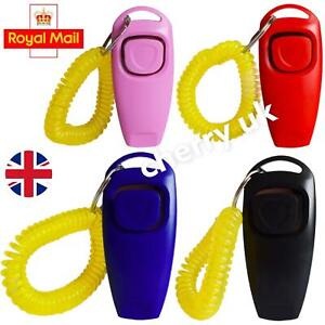 Dog Clicker  Training Puppy Whistle Trainer Teaching Behaviour Recall Click Dogs