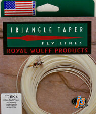 Royal Wulff Triangle Taper 4 WT Sink Tip Fly Line Ivory/Grey FastFree Ship TTSK4