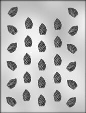 "Pinecone 1"" Pieces Chocolate Candy Mold - Pine, Tree, Sap, Winter, Seasons"