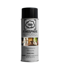 ATMOSPHERE AEROSOL   Professional haze spray for filmakers & photographers.