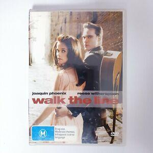 Walk The Line Movie DVD Region 4 PAL Free Postage - True Story Drama