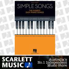 SIMPLE SONGS - The Easiest Easy Piano Book *NEW* Sheet Music, 50 Favorites