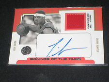 Josh Smith Signed Autographed Certified Authentic Basketball Jersey Card /100