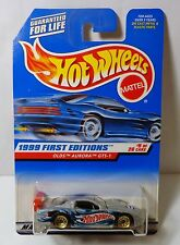 Hot Wheels 1999 First Editions #5/26 Olds Aurora GTS-1 collector #911